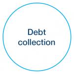 Debt collection icon